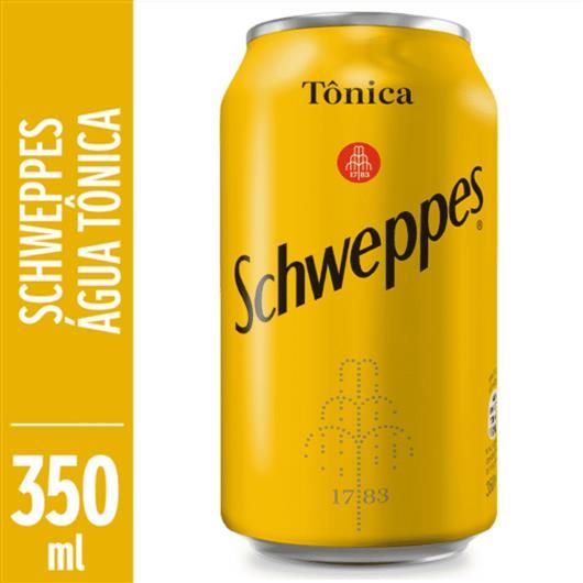 Água tônica Schweppes lata 350ml - Imagem em destaque