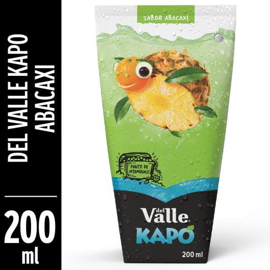 Bebida mista Del Valle Kapo sabor abacaxi 200ml - Imagem em destaque