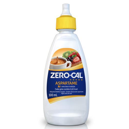 Adoçante Zero Cal gotas aspartame 100ml - Imagem em destaque