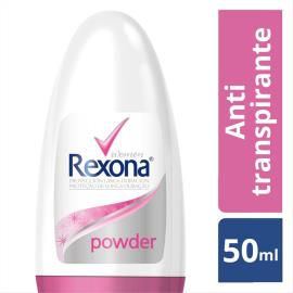 Desodorante Antitranspirante Rexona Feminino Rollon POWDER DRY 50ml