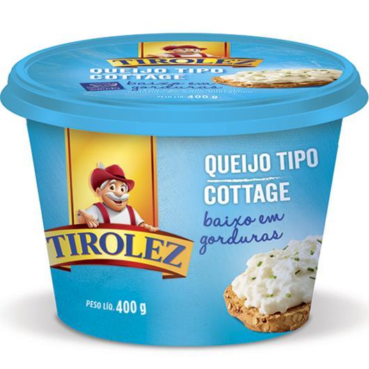 Queijo tipo cottage Tirolez 400g - Imagem em destaque
