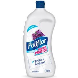 Cera Poliflor Brilho Pratico incolor 750ml