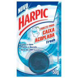 Detergente Harpic Fresh sanitário caixa acoplada 50g