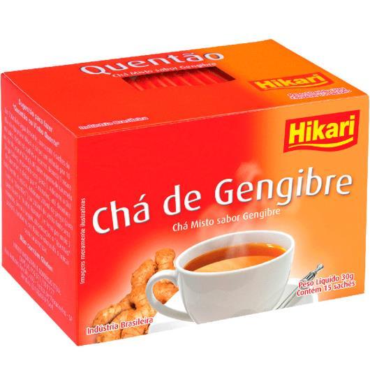 Chá Hikari quentão gengibre 30g - Imagem em destaque