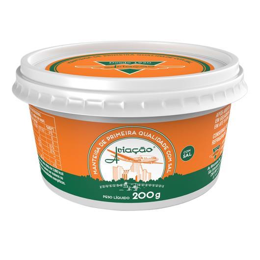 Manteiga Aviação com sal pote 200g - Imagem em destaque