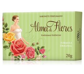 Sabonete Alma de Flores clássico 130g