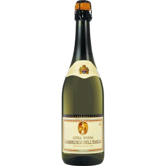 Vinho Italiano Lambrusco Branco Linda Donna 750ml - Imagem em destaque