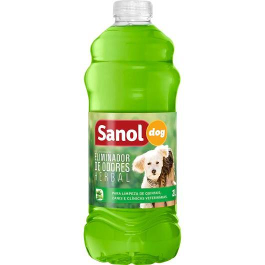 Eliminador de Odores Sanol Dog Herbal 2L (cães) - Imagem em destaque