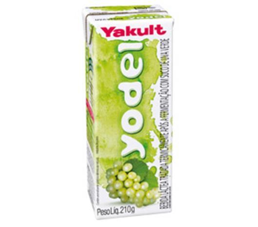 Bebida láctea Yodel de uva verde 210g - Imagem em destaque