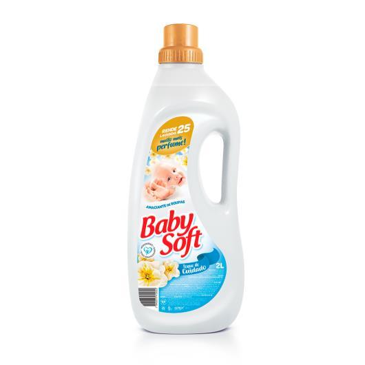 Amaciante Baby Soft branco 2L - Imagem em destaque