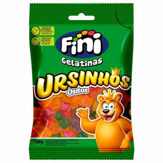 Bala Fini ursinhos osos bears 100g - Imagem em destaque