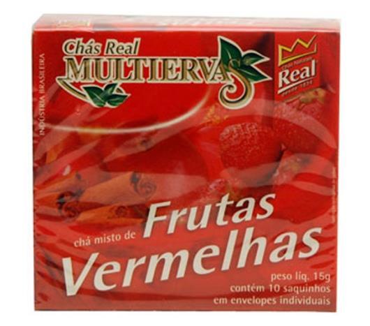 Chá multiervas frutas vermelhas com Canela Real 15g - Imagem em destaque
