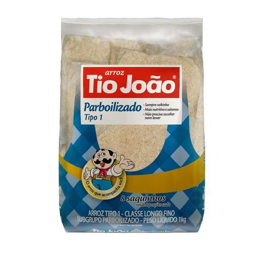 Arroz Parboilizado Tio João Saquinhos tipo1 1kg - Imagem em destaque