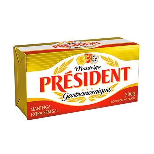 Manteiga President sem Sal 200g - Imagem em destaque