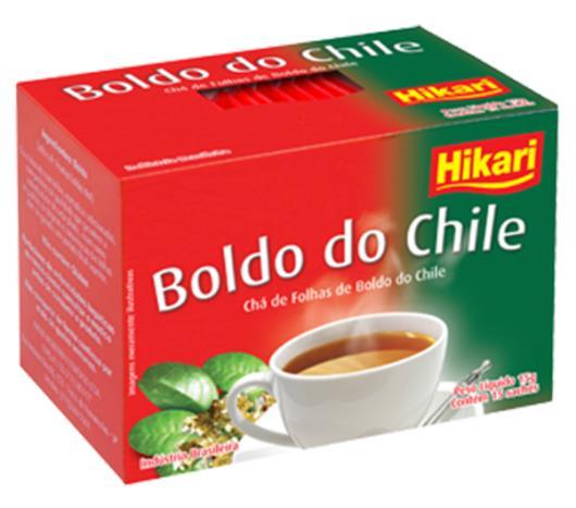 Chá Hikari de boldo do chile 15g - Imagem em destaque