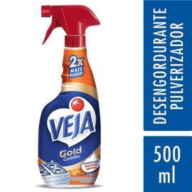 Limpador Veja desengordurante extrato de laranja pulverizador 500ml