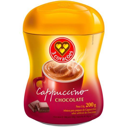 Cappuccino Chocolate 3 Corações 200g - Imagem em destaque