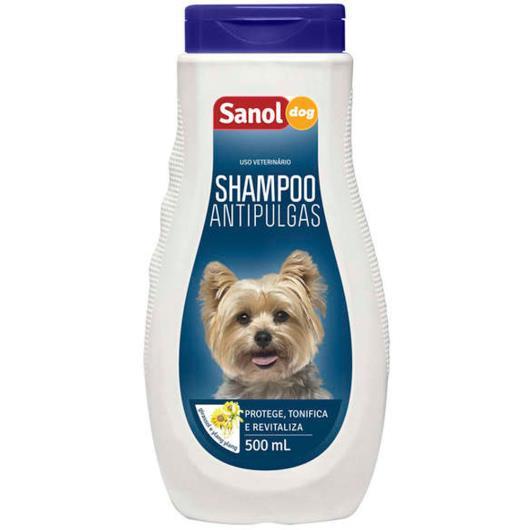 Shampoo Sanol Dog Antipulgas 500ml - Imagem em destaque