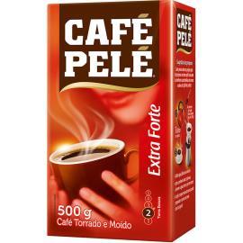 Café extra forte a vácuo Pelé 500 g