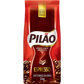 Café Pilão Espresso Torrado Em Grãos 1kg