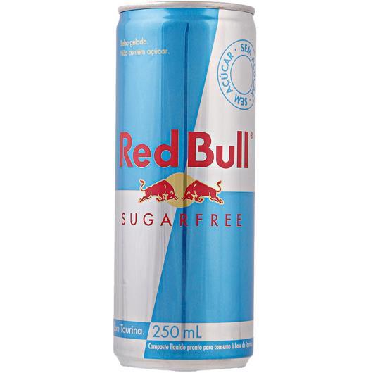 Energético Red Bull sugarfree 250ml - Imagem em destaque