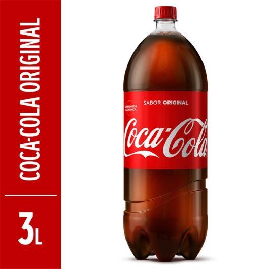 Refrigerante Coca-Cola Original PET 3L - Imagem em destaque
