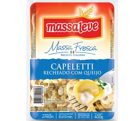 Capeletti Massa Leve queijo 400g - Imagem em destaque