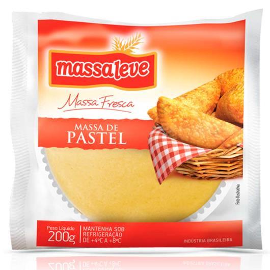 Massa para pastel cumbuca Massa Leve 200g - Imagem em destaque