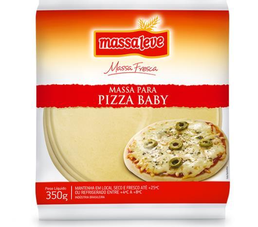 Massa para pizza brotinho Massa Leve 300g - Imagem em destaque