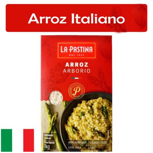 Arroz Arbório Tipo 1 La Pastina Caixa 1kg - Imagem em destaque