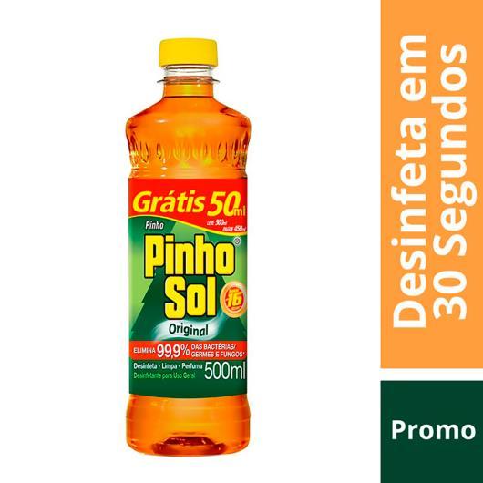 Desinfetante Pinho Sol original leve 500 pague 450ml - Imagem em destaque