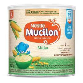 NESTLÉ Mucilon Milho Cereal Infantil Lata 400g