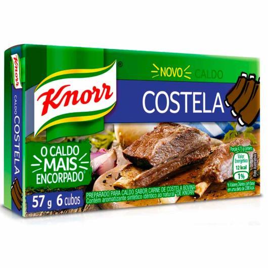 Caldo Knorr costela 6 cubos 57g - Imagem em destaque