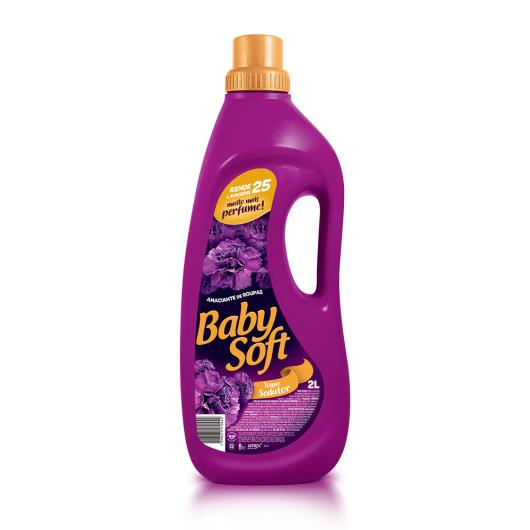 Amaciante Baby Soft lilás 2L - Imagem em destaque