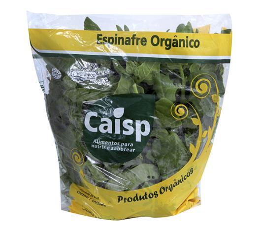 Espinafre orgânico Caisp  - Imagem em destaque