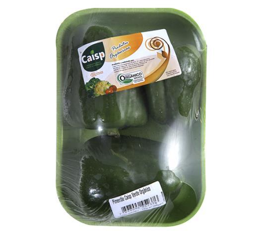 Pimentão Caisp verde orgânico 400g - Imagem em destaque