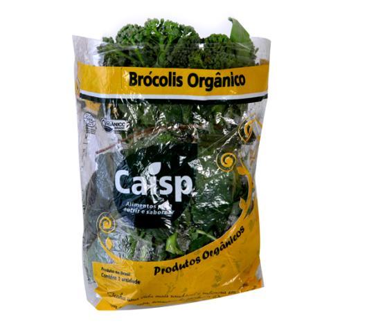 Brócolis japonês orgânico Caisp 200g - Imagem em destaque