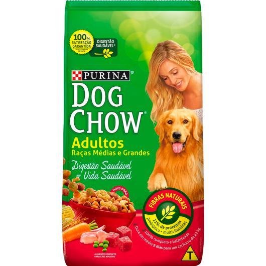 Ração para cães adultos raças de porte médio e grande Dog Chow 1kg - Imagem em destaque