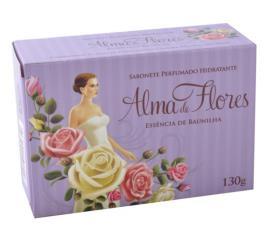Sabonete Alma de Flores de baunilha 130g