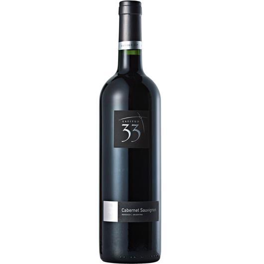 Vinho Argentino Latitud 33 Cabernet  Sauvignon Tinto 750ml - Imagem em destaque