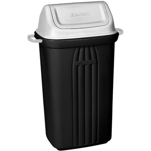 Lixeira basculante com tampa  Sanremo 30 litros - Imagem em destaque