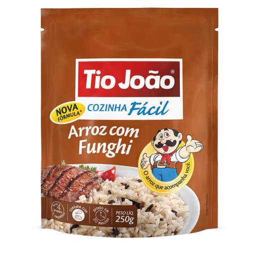 Arroz Tio João cozinha fácil com funghi 250g - Imagem em destaque