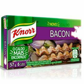 Caldo Knorr Bacon e louro 6 cubos 57g