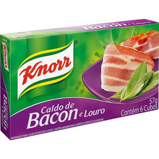 Caldo Knorr Bacon e louro 6 cubos 57g - Imagem em destaque