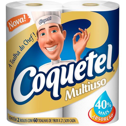Papel toalha Coquetel multiuso com 2 unidades - Imagem em destaque