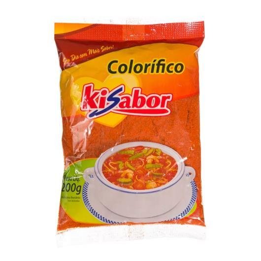 Tempero colorífico Kisabor 200g - Imagem em destaque