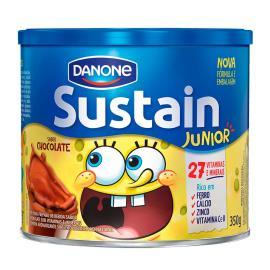 Pó para Preparo de Bebida Sustain Jr. Chocolate 350g