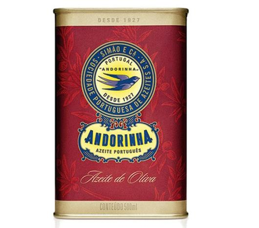 Azeite de oliva Andorinha lata 500ml - Imagem em destaque