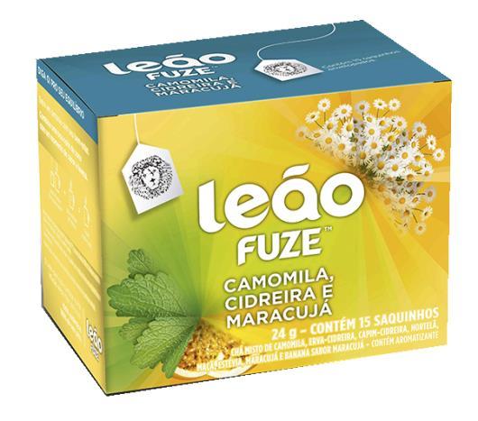 Chá Leão Fuze Camomila /Cidreira /Maracujá 24g - Imagem em destaque