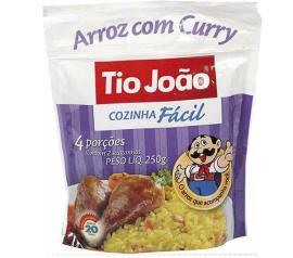 Arroz Tio João cozinha fácil com curry 250g